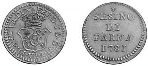 sesino di Parma 1781