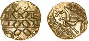 statere d'oro di Cartivellaunos