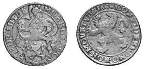 tallero del leone 1660