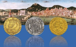 Tevola Strozzi e monete di Napoli